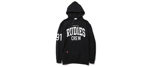 RUDIES / COLLEGE HOOD SWEAT ルーディーズ スウェットパーカー