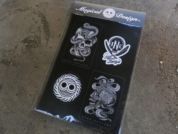 MAGICAL DESIGN / MAGICAL DESIGN×RUDE GALLERY STICKER SHEET マジカルデザイン ステッカー