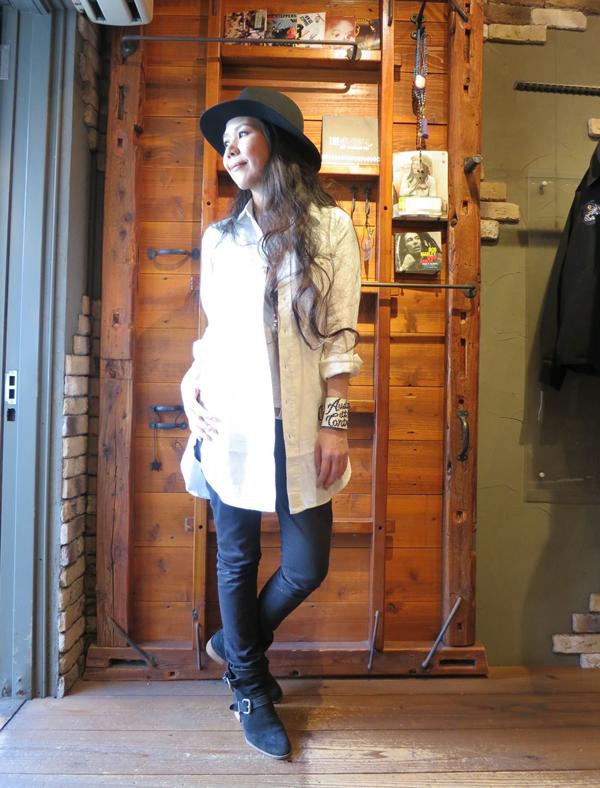 RUDE GALLERY / LONG SHIRT -LINEN ルードギャラリー ロングシャツ