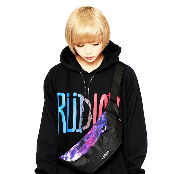 RUDIES / でんぱ組.inc 最上もが×RUDIES GALAXY WAIST BAG