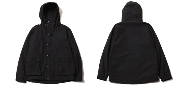 RUDE GALLERY BLACK REBEL / RAINBIRD -HOODED JACKET ルードギャラリーブラックレベル