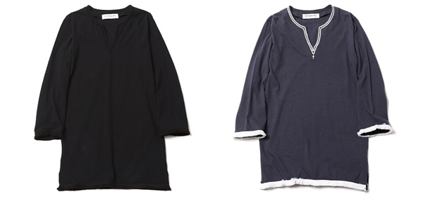 RUDE GALLERY / LADIES HIP STAR V-NECK THREE QUATER SLEEVE -FRINGE ルードギャラリー カットソー