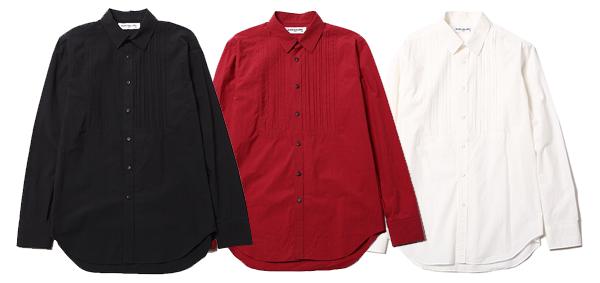 RUDE GALLERY / PINTUCK SHIRT -GRUNGE WASHED ルードギャラリー ピンタックシャツ