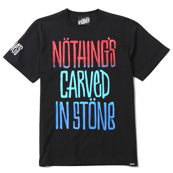 RUDIES / Nothings Carved In Stone×RUDIES DRAWING-T