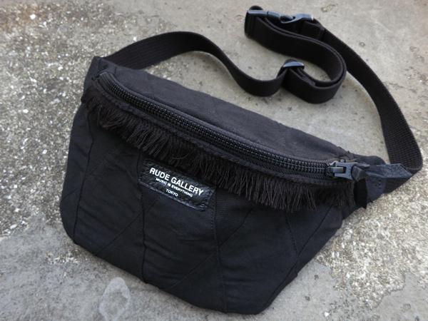 RUDE GALLERY / WAIST BAG -PATCHWORK ルードギャラリー ウエストバッグ