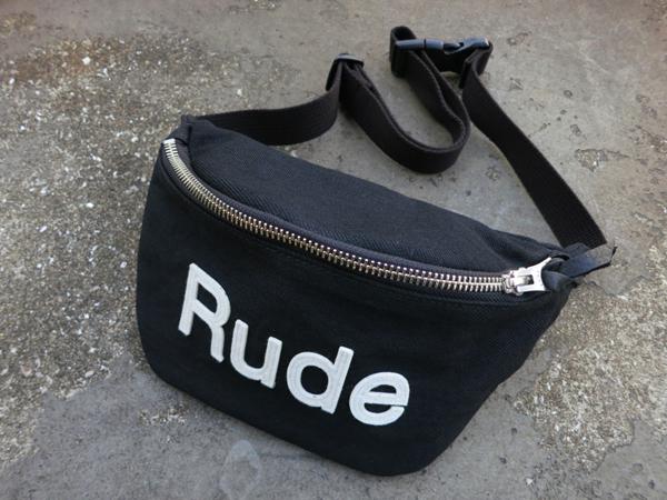 RUDE GALLERY / WAIST BAG -DENIM ルードギャラリー ウエストバッグ