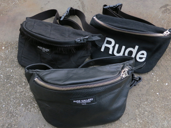 RUDE GALLERY / WAIST BAG ルードギャラリー ウエストバッグ