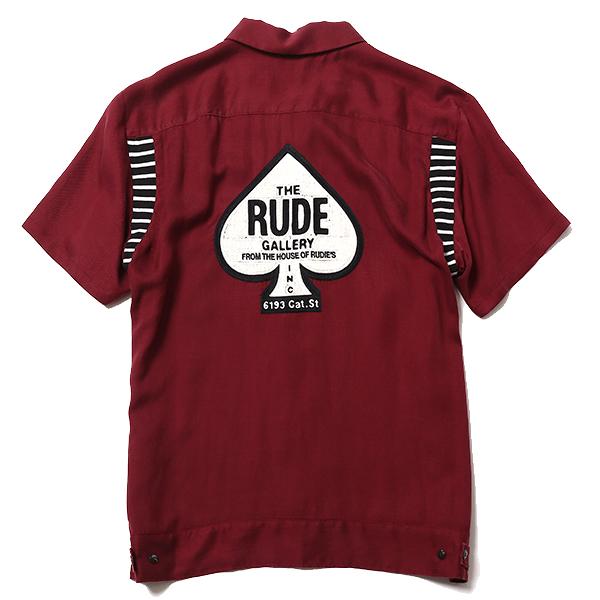 RUDE GALLERY / SPADE BOWLING SHIRT ルードギャラリー ボーリングシャツ