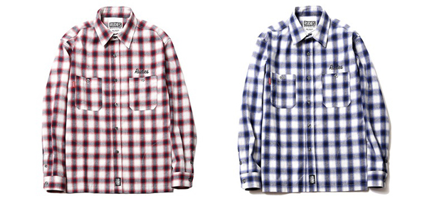 RUDIES / SCRIPT CHECK SHIRTS Nothings Carved In Stone 村松拓