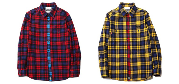 RUDIES / PHAT CHECK SHIRTS Nothings Carved In Stone 村松拓