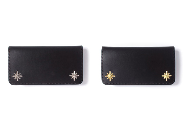 METAL JACKET / STARBURST STUDS LONG WALLET メタルジャケット 財布