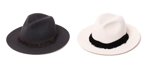 RUDE GALLERY / FRINGE FELT HAT ルードギャラリー