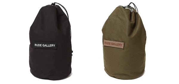 RUDE GALLERY / RUDE NATION TRAVEL STUFF SACK ルードギャラリー バッグ