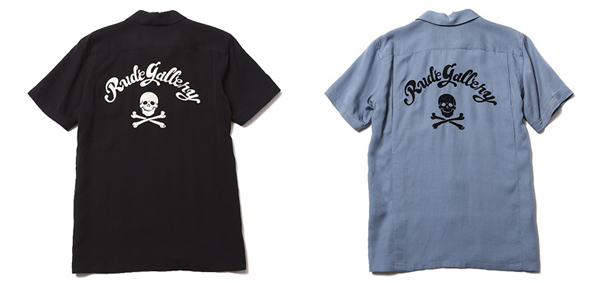 RUDE GALLERY / MAD SKULL BOWLING SHIRT ルードギャラリー ボーリングシャツ