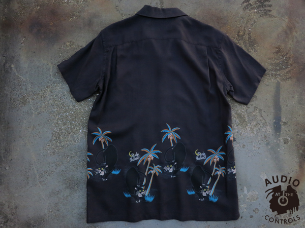 RUDE GALLERY / BLACK PANTHER ALOHA SHIRT ルードギャラリー アロハシャツ