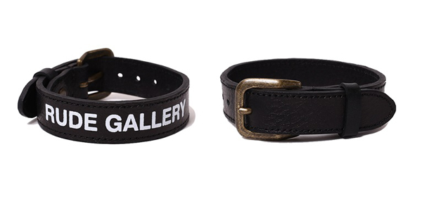 RUDE GALLERY / RUDE NATION LEATHER BRACELET ルードギャラリー