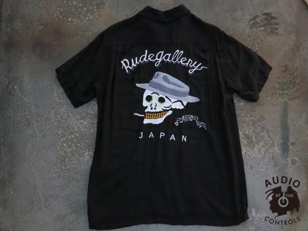 RUDE GALLERY / SMOKING SKULL BOWLING SHIRT ルードギャラリー ボーリングシャツ