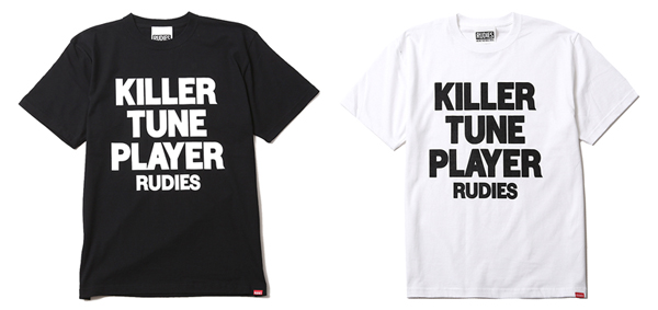 RUDIES / KILLER TUNE PLAYER-T ルーディーズ JU-KEN