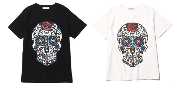 RUDE GALLERY / BIG SILHOUETTE TEE -MEXICAN SKULL メキシカンスカル