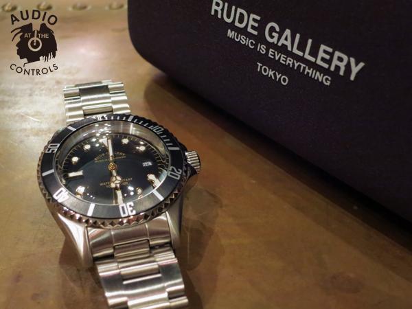 ルードギャラリー RUDE GALLERY GOOD OLD DIVER DATE WATCH 時計
