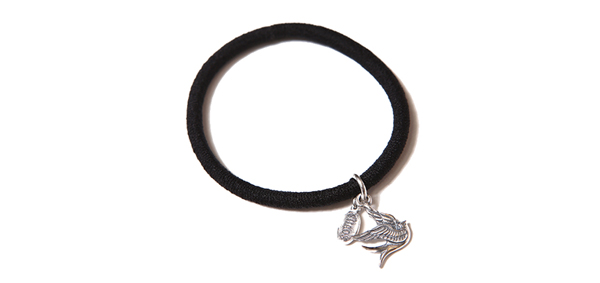 "RUDE GALLERY BLACK REBEL / GOOD LUCK SHAG BAND ""SWALLOW"" <CHAOS DESIGN COLLABORATION> カオスデザイン"