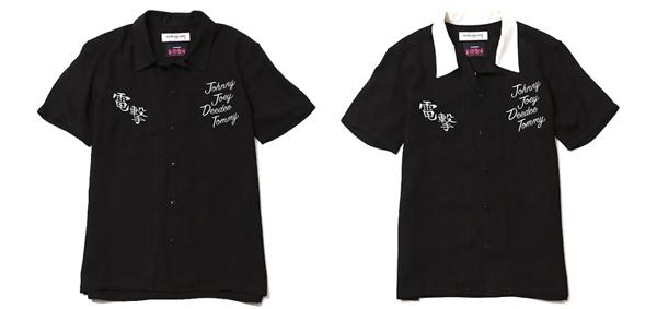 ルードギャラリー RUDE GALLERY / BOWLING SHIRT -RAMONES MEETS RUDE GALLERY ラモーンズ ボーリングシャツ