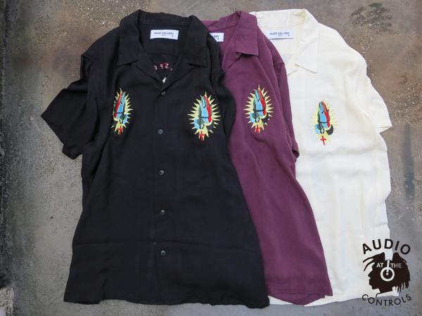 ルードギャラリー RUDE GALLERY / MEX MARIA BOWLING SHIRT マリアボーリングシャツ