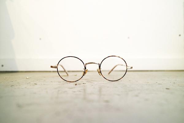 Mr.CASANOVA / SECT(Brown Demi×Gold/Clear Lens)