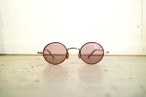 Mr.CASANOVA / SECT(Brown Demi×Gold/Light Pink Lens)