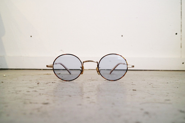 Mr.CASANOVA / SECT(Brown Demi×Gold/Light Blue Lens)