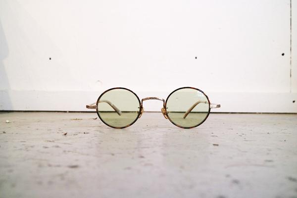 Mr.CASANOVA / SECT(Brown Demi×Gold/Light Green Lens)