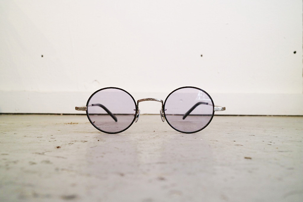 Mr.CASANOVA / SECT(Black×Silver/Light Purple Lens)