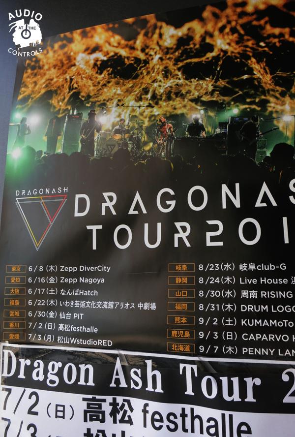Dragonash Live Tour 2017 MAJESTIC