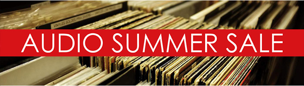 AUDIO SUMMER SALE