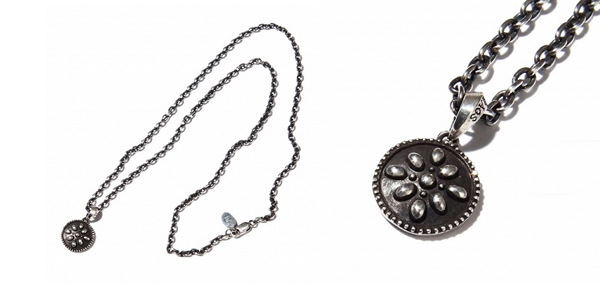 RUDE GALLERY / STUDS NECKLACE SMALL カオスデザイン CHAOS DESIGN