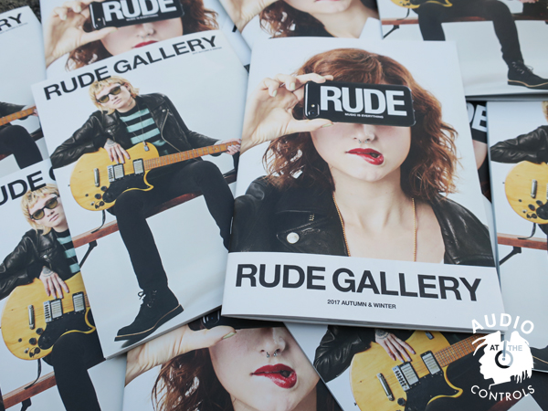 RUDE GALLERY 2017 AUTUMN&WINTER COLLECTION