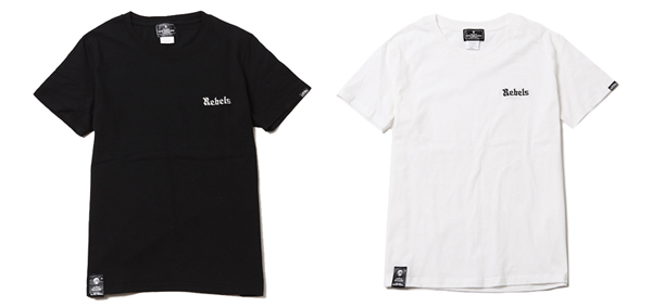 ルードギャラリーブラックレベル RUDE GALLERY BLACK REBEL / REBELS EMBR TEE