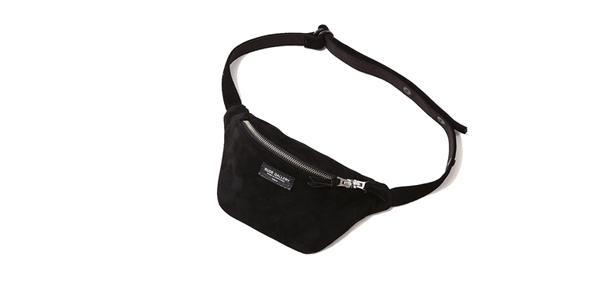 RUDE GALLERY / WAIST BAG -SUEDE ルードギャラリー ウエストポーチ