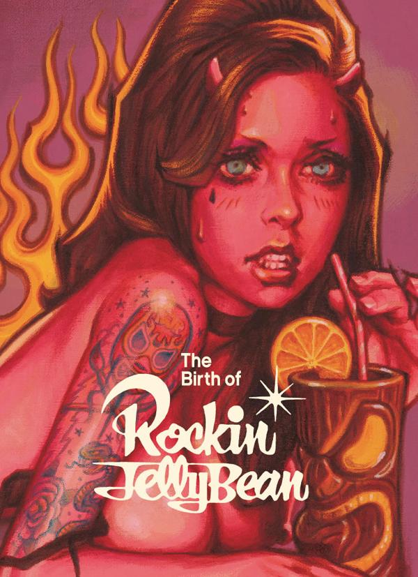 ロッキンジェリービーン Rockin Jelly Bean画集 / -The Birth of Rockin Jelly Bean 覆面画家の誕生-