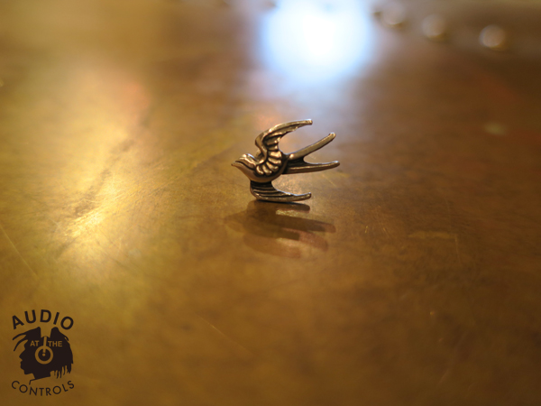 "RUDE GALLERY BLACK REBEL / SWALLOW PIERCE ""L"" <CHAOS DESIGN COLLABORATION> カオスデザイン"
