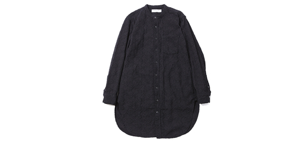 ルードギャラリー RUDE GALLERY / BAND COLLAR LONG SHIRT -PAISLY