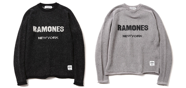 ルードギャラリー RUDE GALLERY / RAMONES MEETS RUDE GALLERY KNIT SWEATER