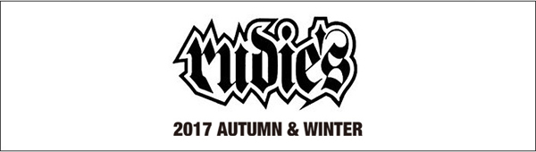 ルーディーズ RUDIES 2017 AUTUMN&WINTER