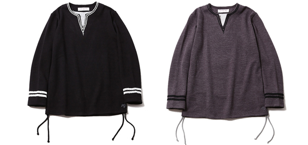 ルードギャラリー RUDE GALLERY / LADIES HIP STAR V-NECK L/S - BRAID