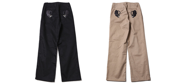 ルードギャラリー RUDE GALLERY / BLACK PANTHER CHINO TROUSERS
