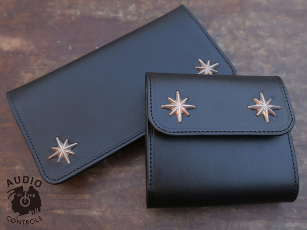 METAL JACKET / STARBURST STUDS LONG WALLET