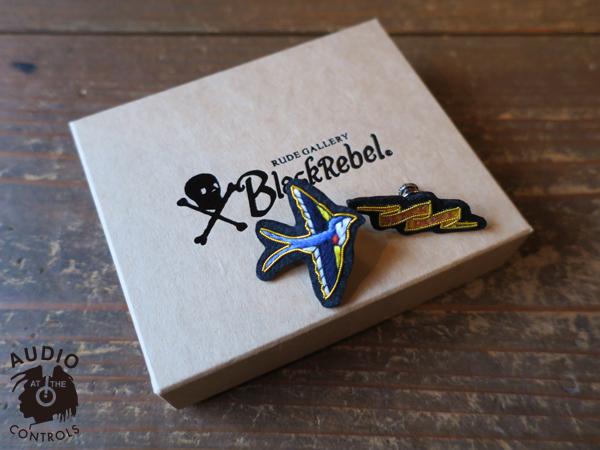 ルードギャラリーブラックレベル RUDE GALLERY BLACK REBEL / HANDMADE PINS SET <ART WORK by H.U.> マジカルデザイン