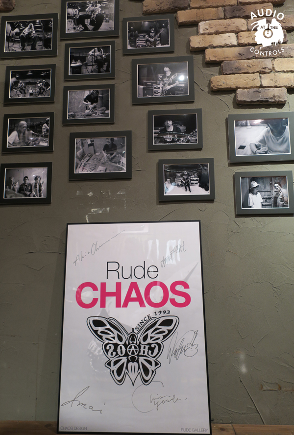 Rude CHAOS AT AUDIO