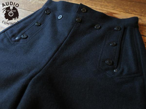 ルードギャラリー RUDE GALLERY / LADIES BLACK PANTHER SAILOR PANTS