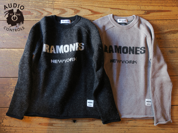 ルードギャラリー RAMONES MEETS RUDE GALLERY KNIT SWEATER